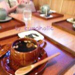 韓流茶房のサンファ茶で疲れをとる