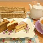 ベリーズティールームの英国伝統菓子5種&ティーセット