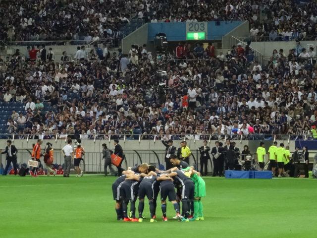 サッカー日本代表UAE戦に行ってきました!
