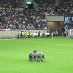 サッカー生観戦記