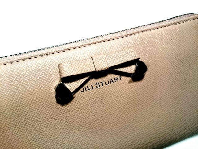 願いを込めてピンクでベージュなリボンが付いた長財布を買ったw