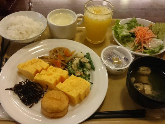 ホテルルートイン横浜馬車道宿泊記 2016年10月朝食