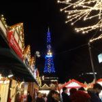 ミュンヘンクリスマス市 in Sapporoでカリーブルストを食す